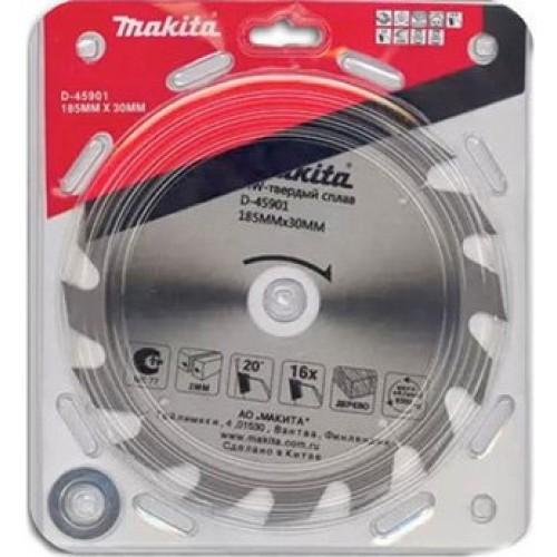 Диск пильный для дисковой пилы 185*30/16/20x2,0x16z Makita