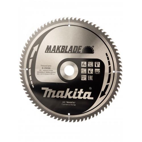 Пильный диск для дерева MAKBLADE,305x30x1.8x80T, Makita, B-29290