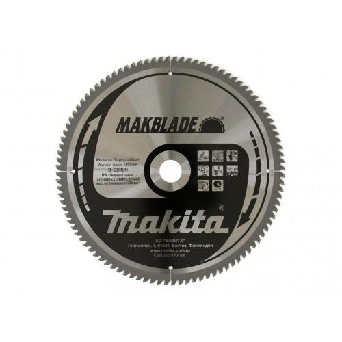 Пильный диск для дерева MAKBLADE,305x30x1.8x100T, Makita, B-29309