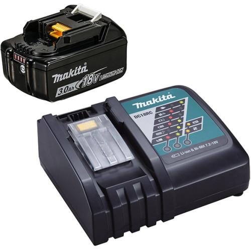 Аккумулятор BL1830B 3.0 Ah + зарядное DC18RC (191A25-2)
