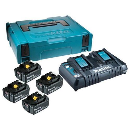 Набор аккумуляторов и зу в кейсе Makita 198094-8