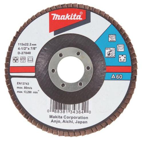 Лепестковый шлифовальный диск Makita (D-27280)