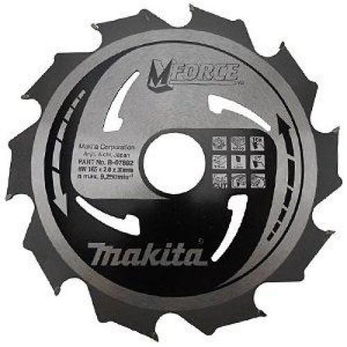 Пильный диск для дерева M-FORCE,165x20x1.2x10T, Makita, B-35140