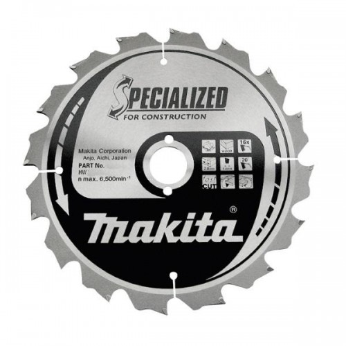 Пильный диск для строительных работ,210x30x1.8x14T, MAKITA, B-31310