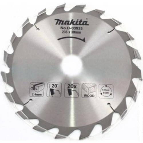 Пильный диск для дерева,235x30/25/25.4x2.4x20T, MAKITA, D-03925
