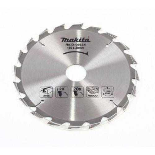 Пильный диск для дерева,185x30/16/20x2x20T, MAKITA, D-09634