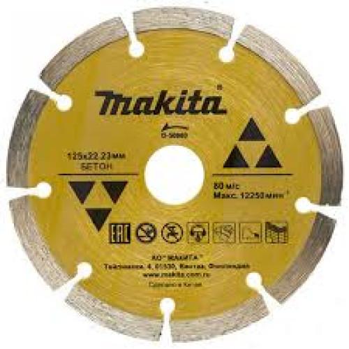 Алмазный диск сегментированный по бетону 180х22,23, MAKITA, D-41682