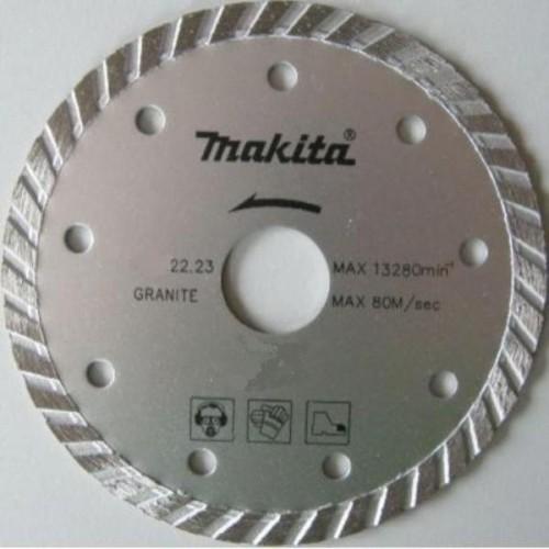 Алмазный диск сплошной рифленый по граниту 230x22,23, MAKITA, D-41729