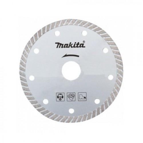 Алмазный диск сплошной рифленый по граниту 125x22,23, MAKITA, D-50996