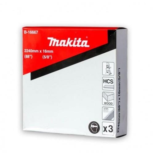 B-16667 Набор полотен для ленточной пилы, Makita