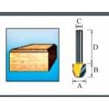 Фреза для прямого и наклонного фрезерования Makita D-10665