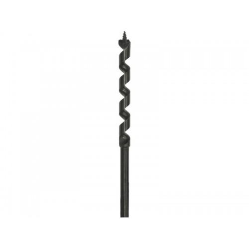 D-07565, Сверло для дерева, 10x450мм,1шт,спиральное, хв-шестигранник