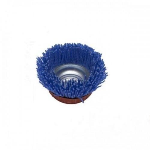 Щетка нейлоновая чашечная (d130 мм,K46,M14), MAKITA, P-52897