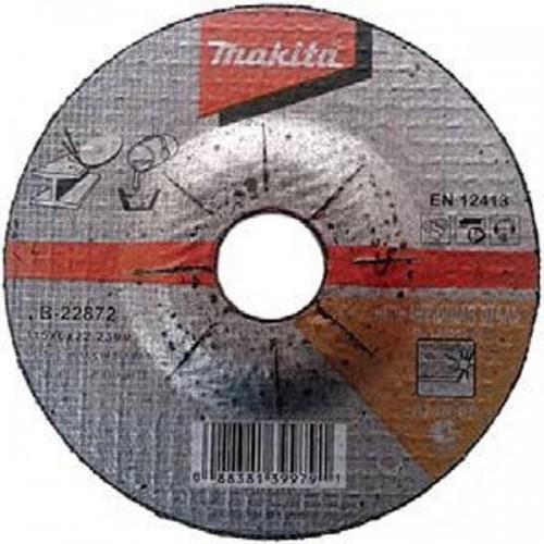 Абразивный шлифовальный диск для нержавеющей стали c вогнутым центром A60T,230х6х22,23, MAKITA, B-22903