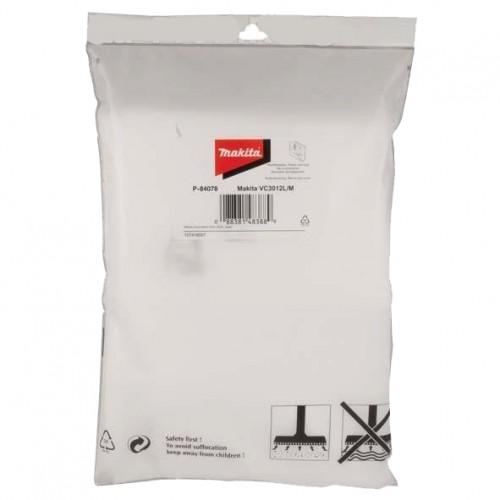 Флисовый пылесборный мешок для VC3012L/VC3012M (5 шт.), MAKITA, P-84078