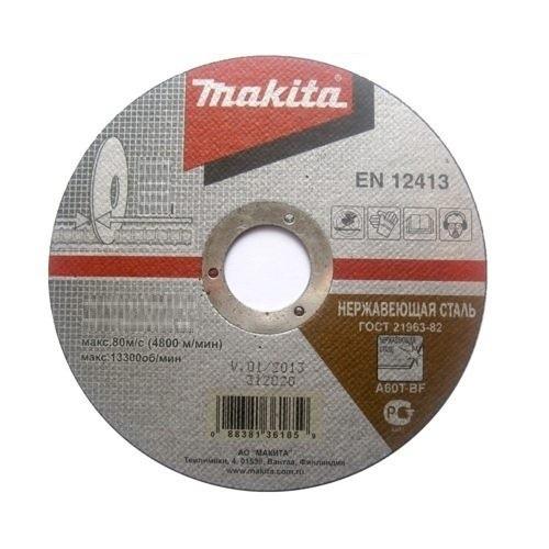 Абразивный отрезной диск для кирпича плоский С30Т,125х3х22,23, MAKITA, B-30726