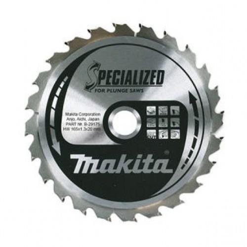 Пильный диск для демонтажных работ,165x20x1.25x24T, MAKITA, B-29175