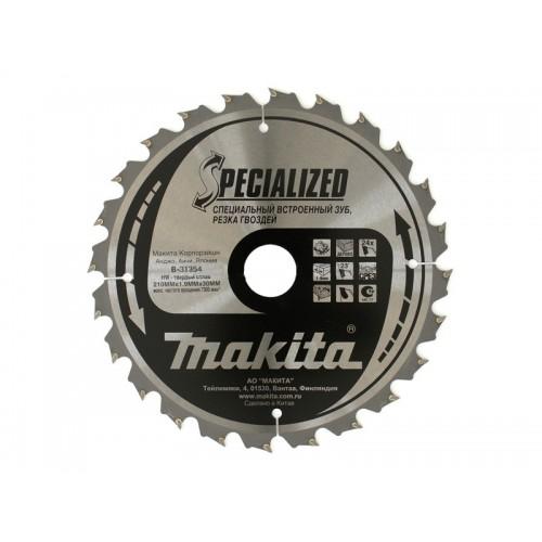 Пильный диск для демонтажных работ,210x30x1.4x24T, MAKITA, B-31354