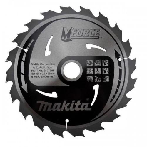 Пильный диск для демонтажных работ,235x30x1.6x20T, MAKITA, B-31398