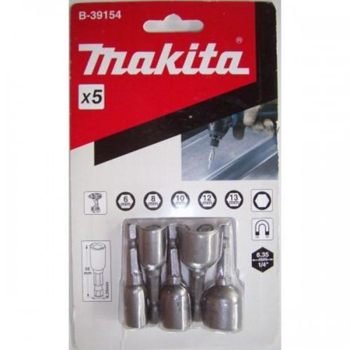 Магнитные торцевые ключи Makita B-39154 5шт