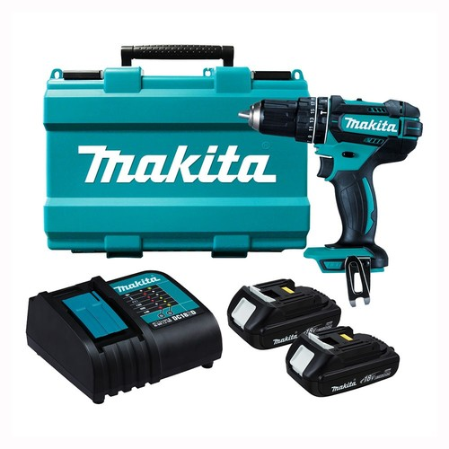 Аккумуляторный ударный шуруповерт Makita DHP482SYE