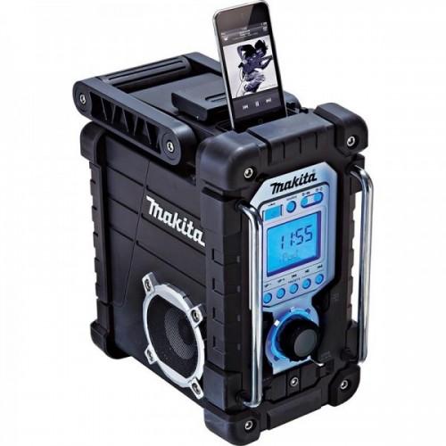 Радио BMR103B 18V-7.2V,для Li-oin / NiCd / NiMh АКБ воспроизведение и зарядка iPod/ iPhone, MAKITA, BMR103B