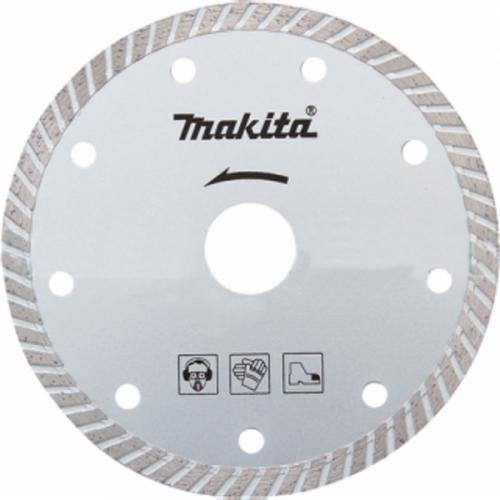 Алмазный диск сплошной рифленый по бетону 125x22,23, MAKITA, B-28014