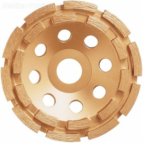 Алмазный тарельчатый диск 125x22,23, MAKITA, D-60660