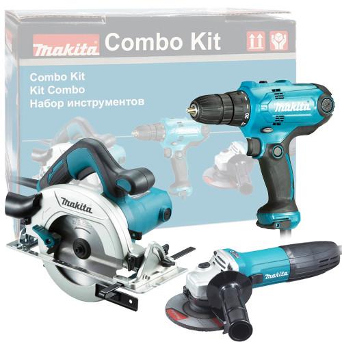 Набор инструментов MAKITA DK0119 (GA5030, HS6601, DF0300)