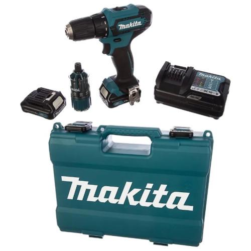 Аккумуляторная дрель-шуруповёрт Makita DF333DWYE4 (DF 333 DWYE4)